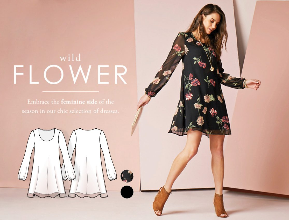 10.Wild-Flower-shift-short-dress
